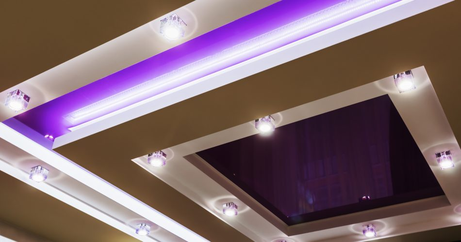 Show your imagination when lighting the interior